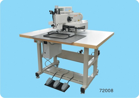 Automatic rope stitching machine