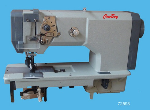 wheel feed shoe sewing machine