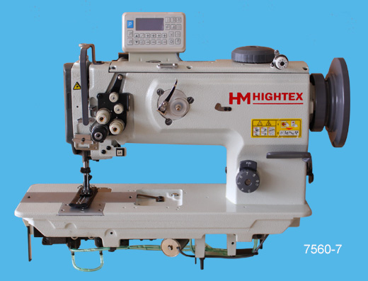 7560-7 double needle upholstery sewing machine